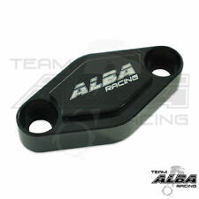 Yamaha YFZ 450 450R 450X  Parking Brake Blockoff Plate  Block off Plate Black