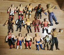 Vintage WWF Hasbro Bend-ems Lot Bendies Bendem Just toys Rock Undertaker Vader +