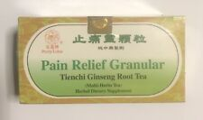 Pretty Lotus Pain Relief Granular Tienchi tianqi Ginseng Root Herbal Tea 16 bags