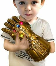 Kid's Size Thanos Marvel Avengers Infinity Gauntlet Glove w/Removable LED Stone