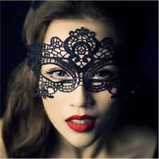 Eye Mask Butterfly Xmas Lace Embroidery Cut Out Veil Prom Nightclub Party LJ
