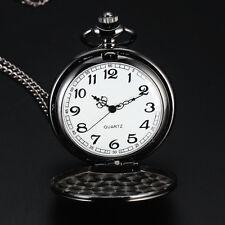 nuevos hombres de la moda las mujeres de bolsillo reloj pulsera de cuarzo