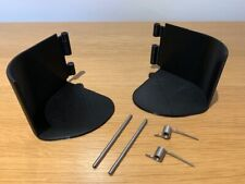 VW T5 cup holder inserts for left and right hand sides plus springs and pins