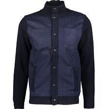 KARL LAGERFELD Navy Knitted Jacket/Cardigan L/M