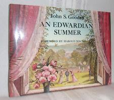 John S Goodall AN EDWARDIAN SUMMER First Ed! 1976 HC Children Pictorial History