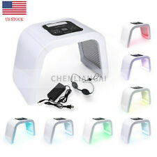 7 Color LED Light Photon Therapy Face Facial Skin Therapy Wrinkle Beauty Machine