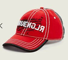 True Religion Up and Down White TRUE USA BASEBALL CAP Cap Hat $85 Red