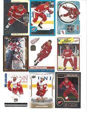Lot of 1100 Detroit RED WINGS Hockey Cards Set Boxed Packs - Federov Yzerman