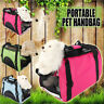 Small Pet Dog Cat Soft Travel Carrier Handbag Tote Crate Foldable Bag