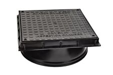 Underground Drainage 320mm Inspection Chamber Square Cover