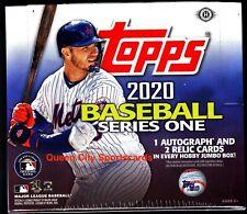 2020 Topps Series 1 Baseball Factory Sealed Jumbo Box