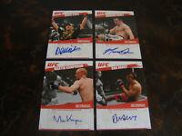 2009 Topps UFC---Autographs