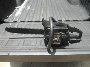 """POULAN 2500 (CRAFTSMAN 2.5) CHAINSAW, 42cc, 16"""", VERY STRONG RUNNER, REFURBISHED"""