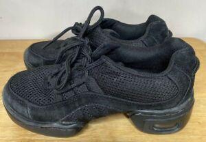 Revolution Dancewear Ultra Arch Size 3 Sneaker Shoes Black