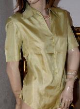 Feinzarte GERRY WEBER Bluse seidig schimmernd hellgrün neuwertig 38