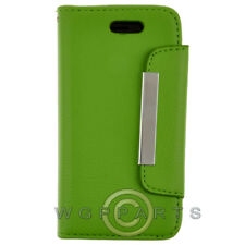 Apple iPhone 5S/SE Wallet Pouch - Green Cover Shell Protector Guard Shield