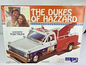1981 THE DUKES OF HAZZARD Cooter's Tow Truck Sealed MPC Model Kit 1/25 scale