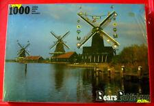 Molinos de viento en los Países Bajos Rompecabezas 1000 Nuevo Sellado Holanda/Canal/River
