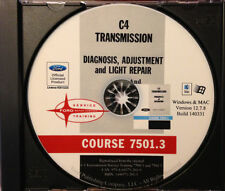 Ford C4 Transmission Service Training Manuals (CD-ROM)