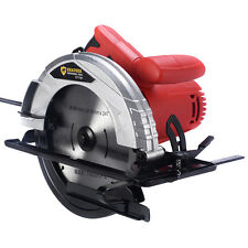 """New 10Amp 7-1/4"""" Bevel Adjustable Electric Circular Saw Working Power Tool"""