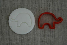 ELEPHANT COOKIE CUTTER 65 mm X 40 mm IDEAL FOR FONDANT, GUMPASTE CAKE TOPPERS
