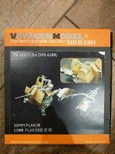 Voyager Model PE 35111 20MM Flak 38 for DML 6288