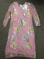 Traditional Pink Punjabi Suit (Kameez & Salwar & Shirt)