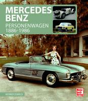 Mercedes-Benz PKW 1886-1986 (Vorkrieg Oldtimer Youngtimer Oswald) Buch book