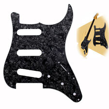 3Ply SSS 11 Hole Pearl Scratch Plate Guitar Pickguard for ST Fender Strat Guitar