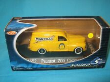 PEUGEOT 203 Commerciale WATERMAN SOLIDO 1/43