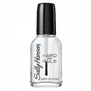SALLY HANSEN - Hard as Nails Nail Polish #800 Crystal Clear - 0.45 fl oz