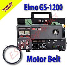 ELMO gs-1200 STEREO SUPER 8mm alle cine proiettore Cinghia (motore principale Cintura)
