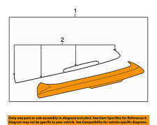 VW VOLKSWAGEN OEM 06-09 Rabbit-Spoiler / Wing Kit 1K6827933DGRU