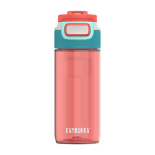 Kambukka Elton Water Bottle 500ml Living Coral - BPA Free & 3-in-1 Snapclean Lid