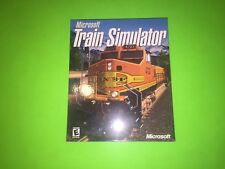 Microsoft Train Simulator PC BIG BOX RELEASE BRAND NEW FACTORY SEALED VERY RARE