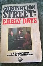 "H V Kershaw, ""Coronation Street: Early Days"" paperback"