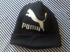 Puma Black/White Beanie Hat