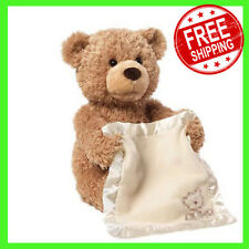 Gund Peek A Boo Bear-Teddy Bear Play Hide And Seek Lovely Cartoon Stuffed