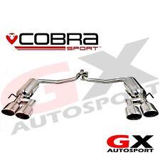 ME11 Cobra Mercedes C Class W204 C220 Diesel 07-13 AMG Style Quad Rear Exhaust