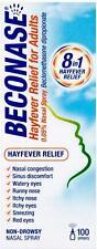 Beconase Hayfever Relief Nasal Spray 8-in-1 Effective Relief for Allergy - - 100