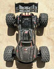Used Arrma Kraton Exb Roller w/ Bash Bar and New Src Sweep Street Tires!