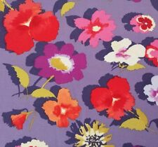Secret Garden Bty Nel Whatmore FreeSpirit Large Floral Red Purple Orange Blue