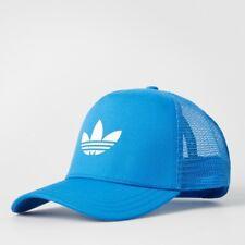 Adidas Originals Trefoil Trucker Cap Hat Snapback Blue AJ8955 new