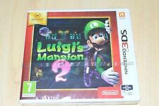 Luigi's Mansion 2 Nintendo 3DS 2DS New Factory Sealed Selects