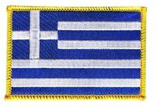 Griechenland Aufnäher Flaggen Fahnen Patch Aufbügler 8x6cm