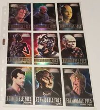 The Complete Star Trek Voyager Trading Card Chase Set F1-F9 (Rittenhouse, 2002)