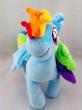 "My little Pony Friendship is Magic Rainbow Dash Plush Doll Toy X'mas Gift 10"""