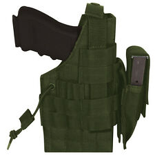 NEW - Tactical Military Large Frame Ambidextrous MOLLE Holster -  OD OLIVE DRAB