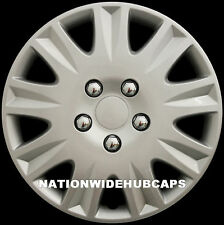 "SET OF 4 15"" Hub Caps Full Wheel Covers Rim Cap Lug Cover Hubs for Steel Wheels"