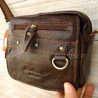 Genuine Leather Shoulder Satchel camera Bag Messenger vintage man woman tote new